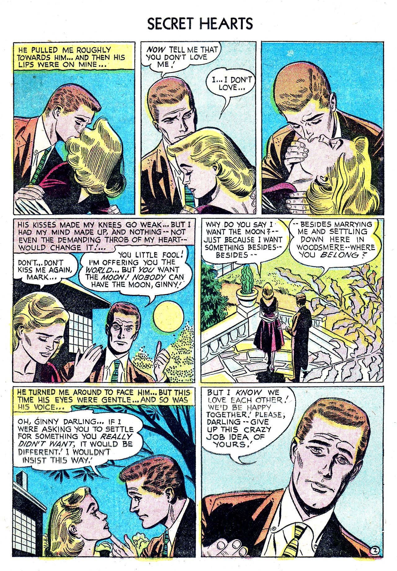 Read online Secret Hearts comic -  Issue #32 - 11