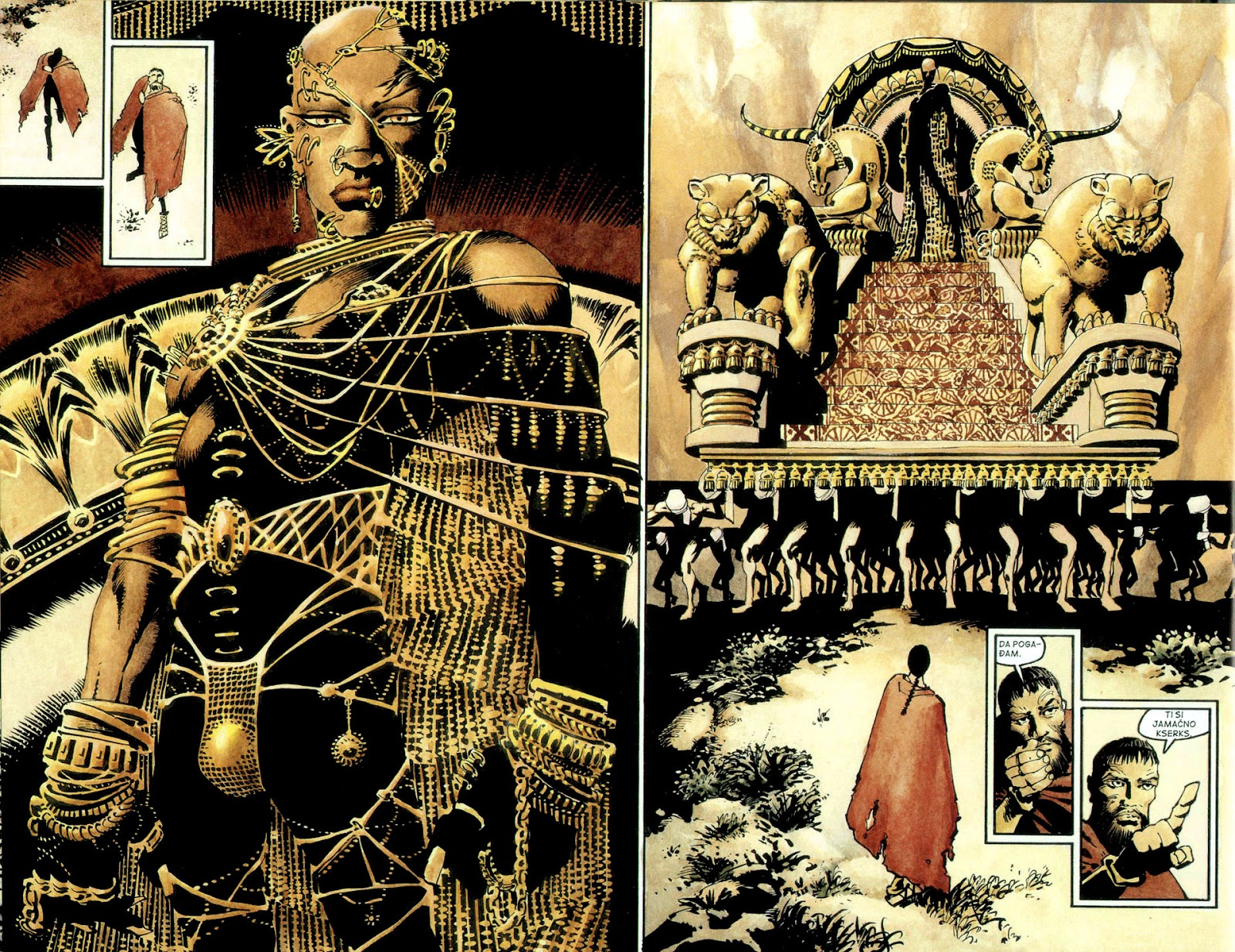 Read online 300 (2007) comic -  Issue # TPB - 55