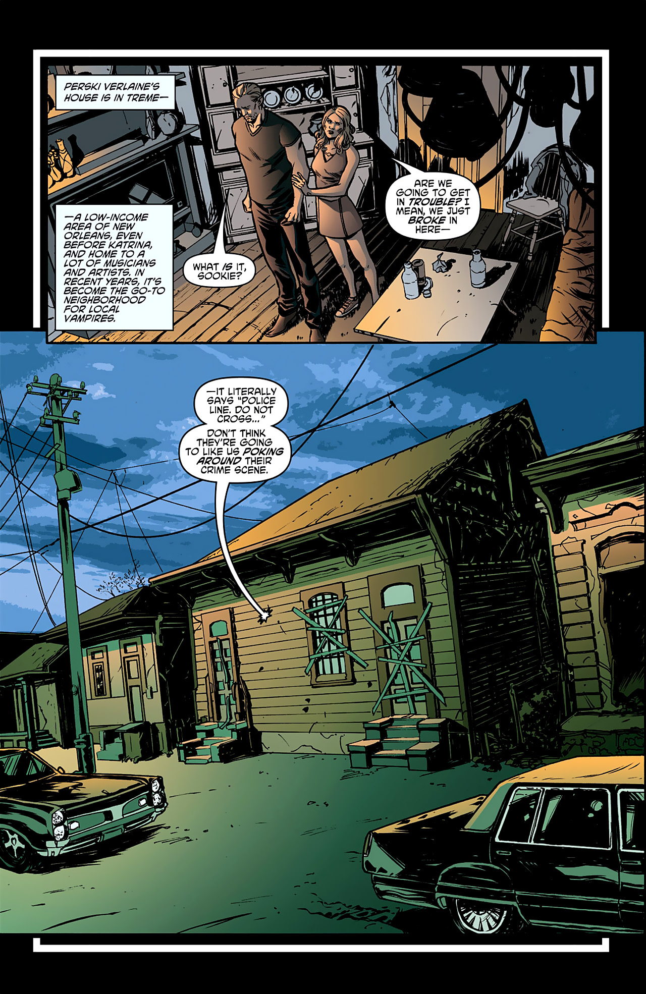 Read online True Blood: French Quarter comic -  Issue #1 - 19