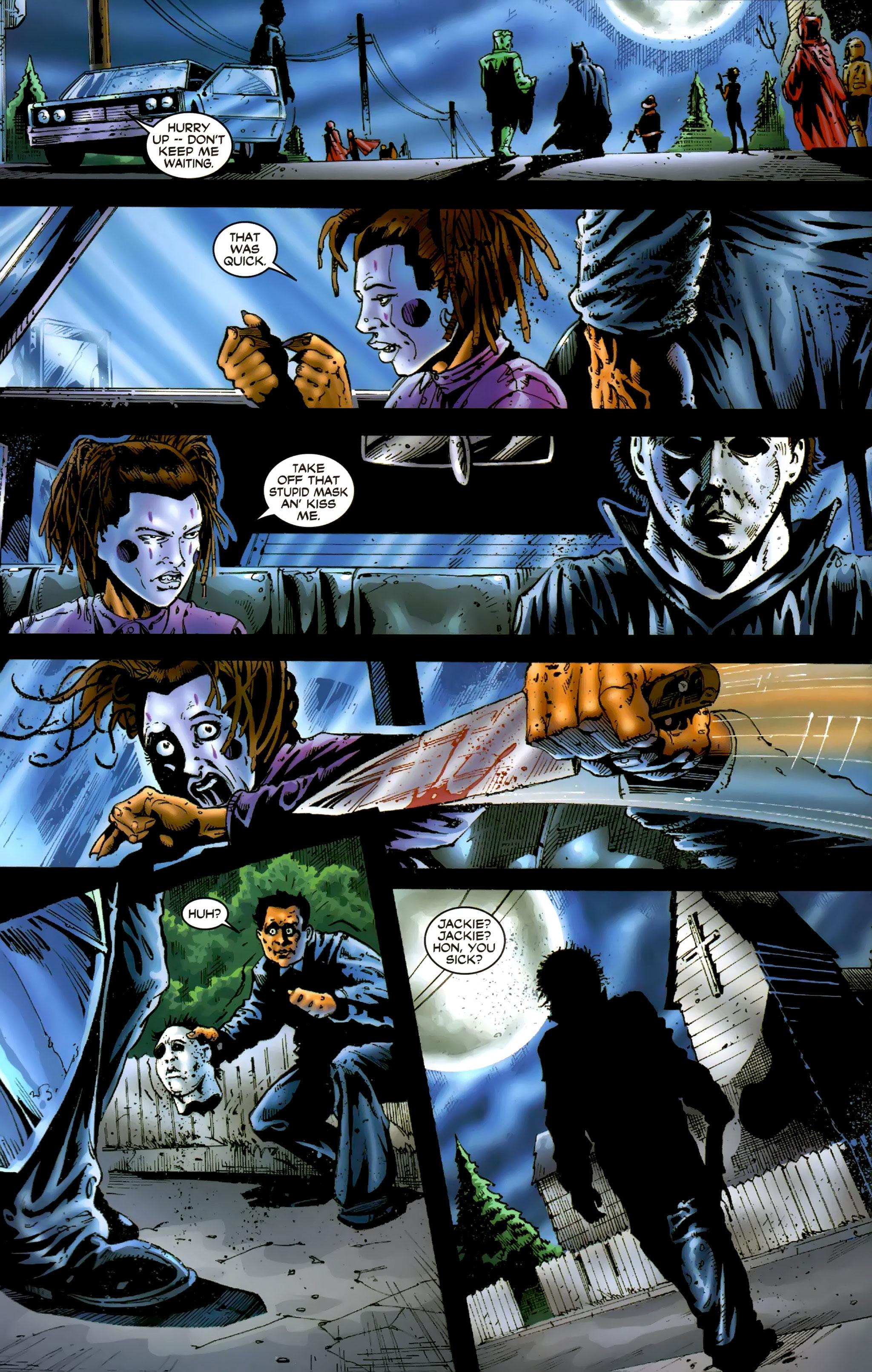 Read online Halloween II: The Blackest Eyes comic -  Issue # Full - 20