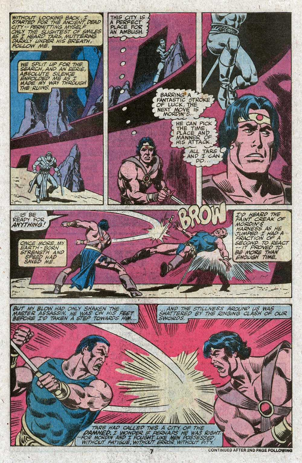 John Carter Warlord of Mars issue 27 - Page 9