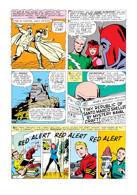 Read online Uncanny X-Men (1963) comic -  Issue #4 - 10