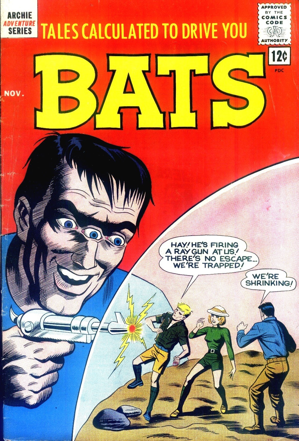 Read online Tales Calculated to Drive You Bats comic -  Issue #7 - 1
