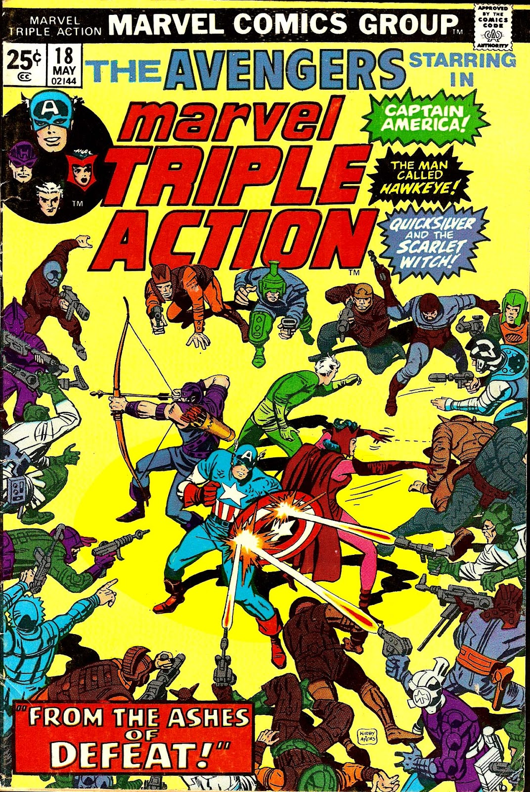 Marvel Triple Action (1972) issue 18 - Page 1