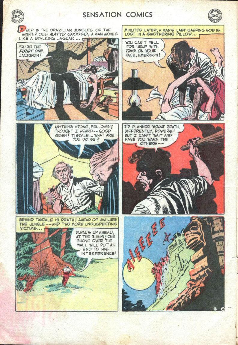 Read online Sensation (Mystery) Comics comic -  Issue #109 - 4