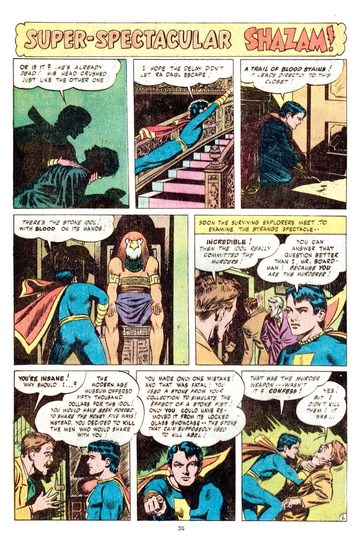 Read online Shazam! (1973) comic -  Issue #17 - 30