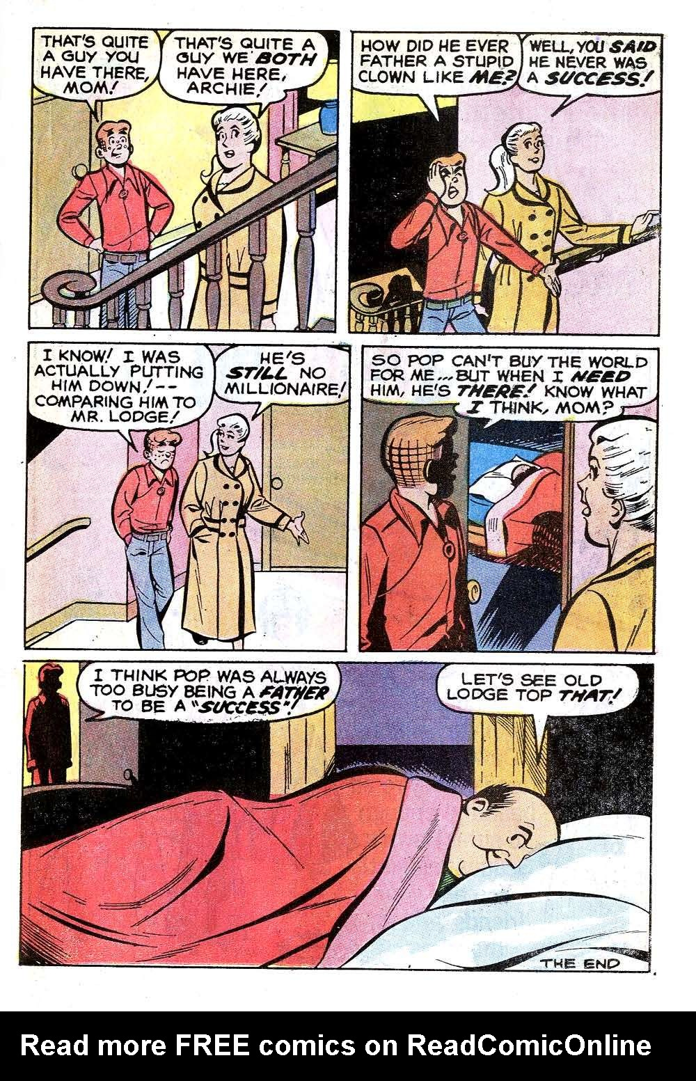 Read online Archie (1960) comic -  Issue #215 - 23