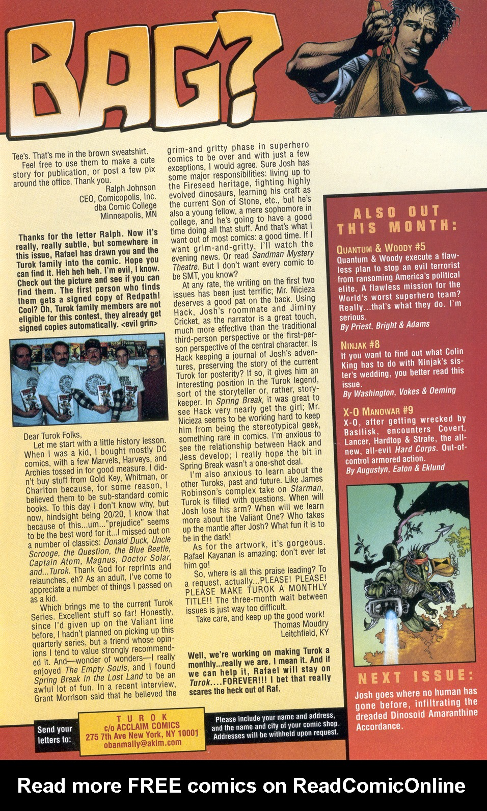 Read online Turok: Redpath comic -  Issue # Full - 43