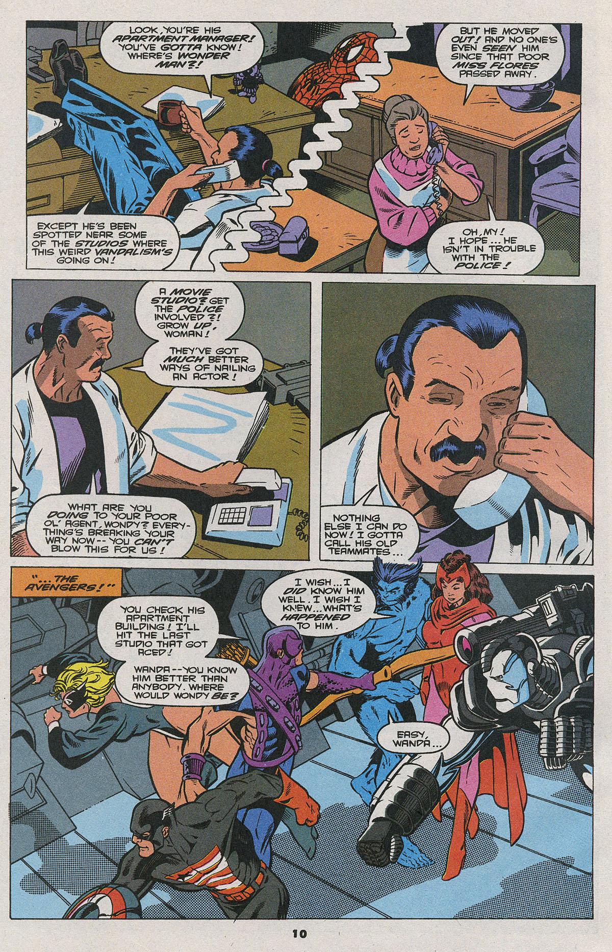 Read online Wonder Man (1991) comic -  Issue #24 - 9
