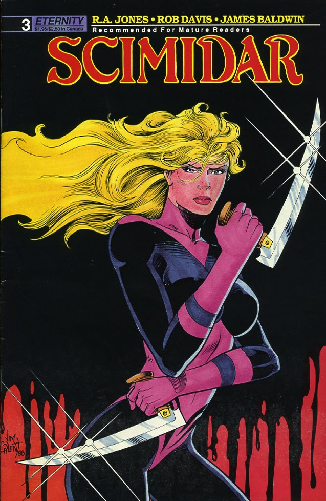 Scimidar (1988) issue 3 - Page 1
