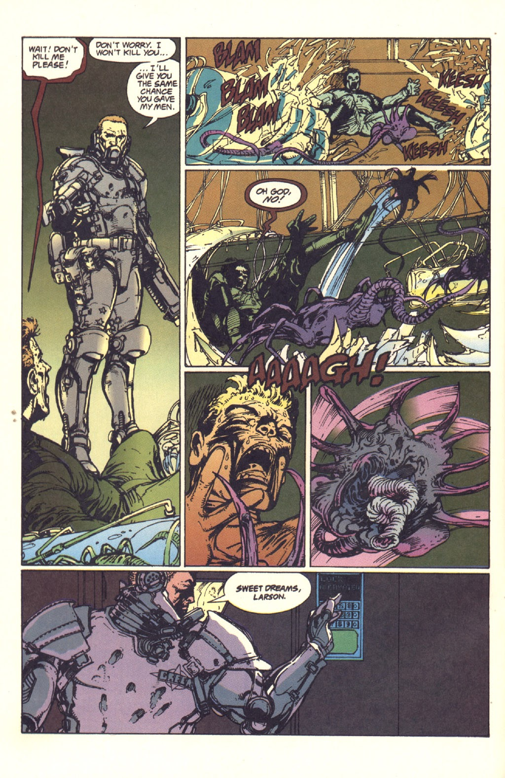 Read online Aliens: Rogue comic -  Issue #1 - 95