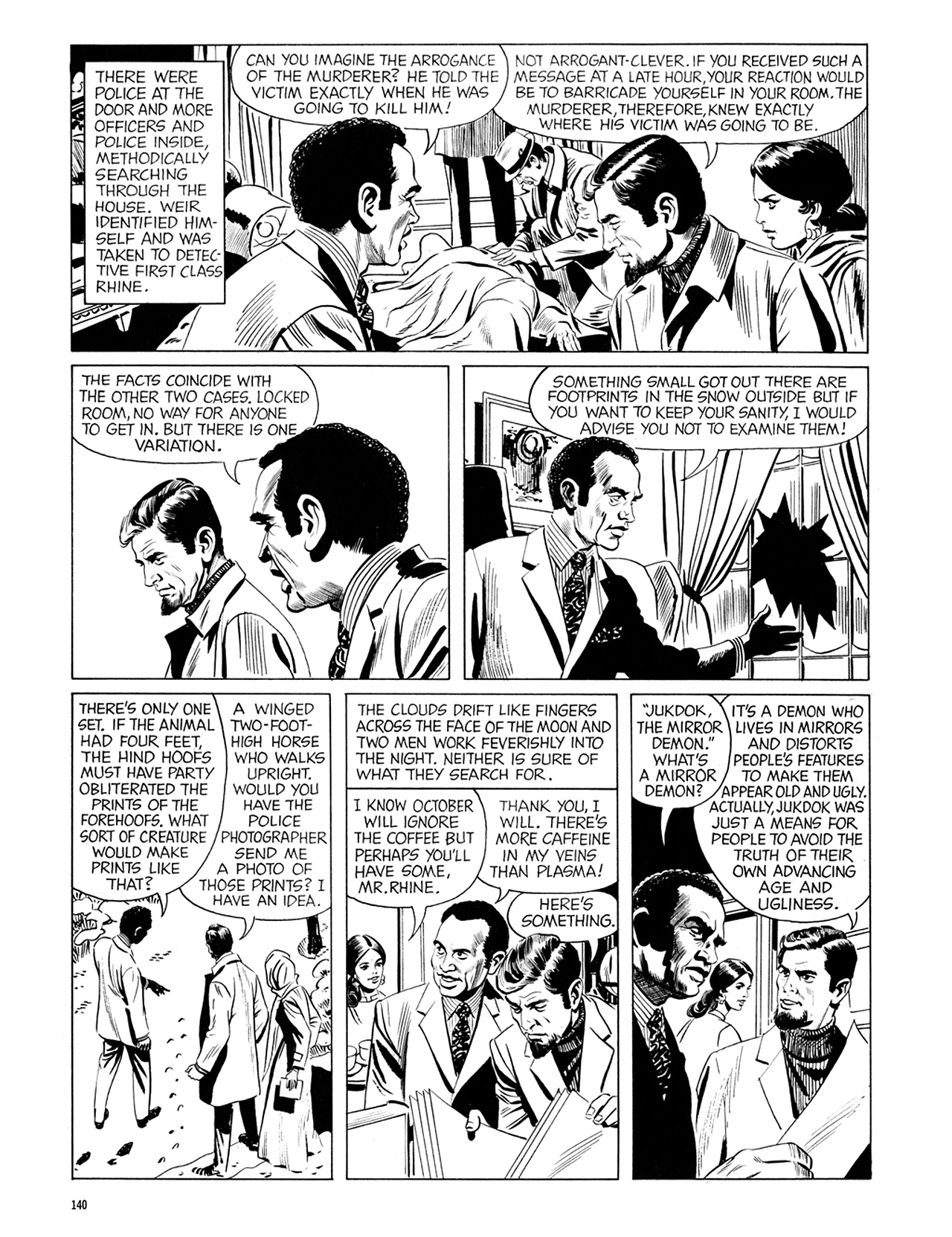 Read online Eerie Archives comic -  Issue # TPB 6 - 140