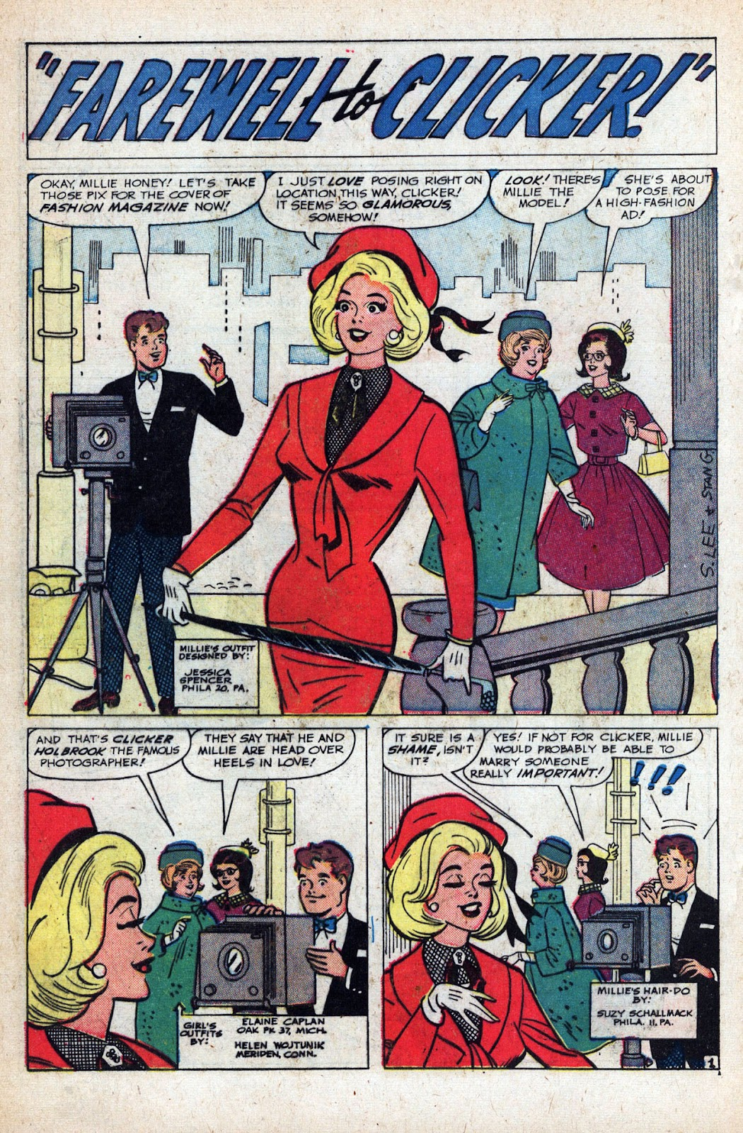 Read online Millie the Model comic -  Issue # Annual 1 - 64