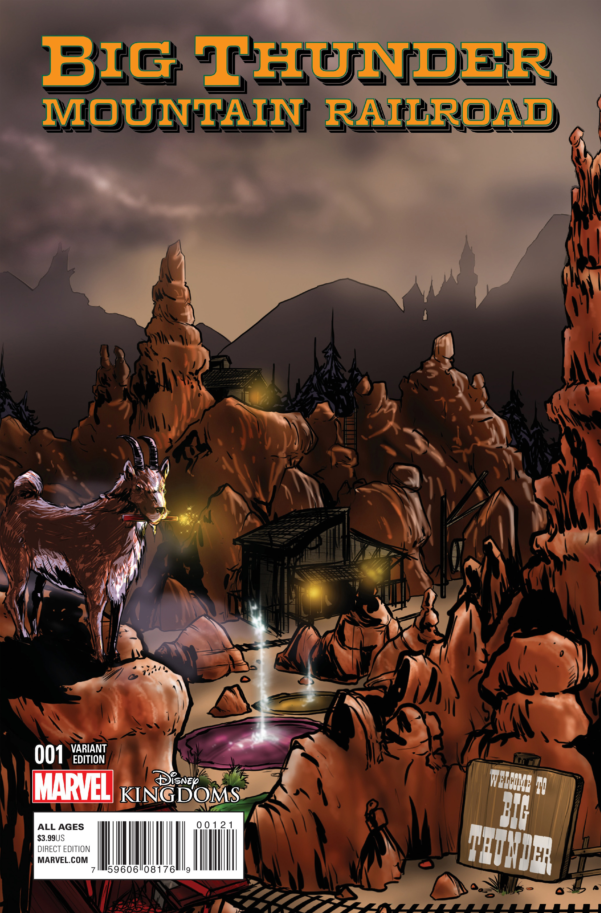 Read online Big Thunder Mountain Railroad comic -  Issue #1 - 2