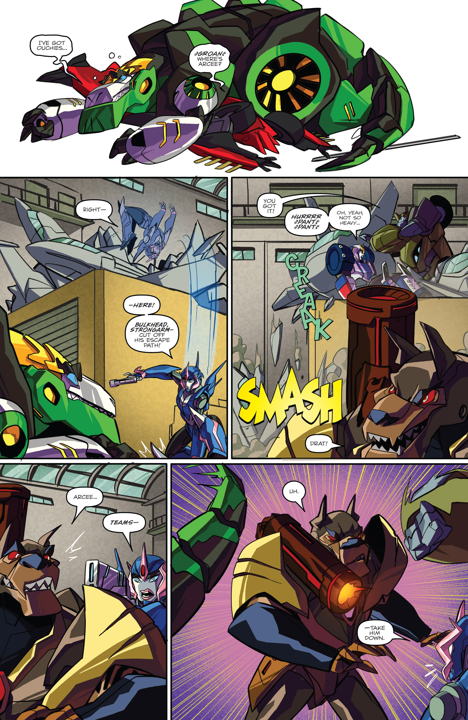 Read online Transformers: Robots In Disguise (2015) comic -  Issue #2 - 21