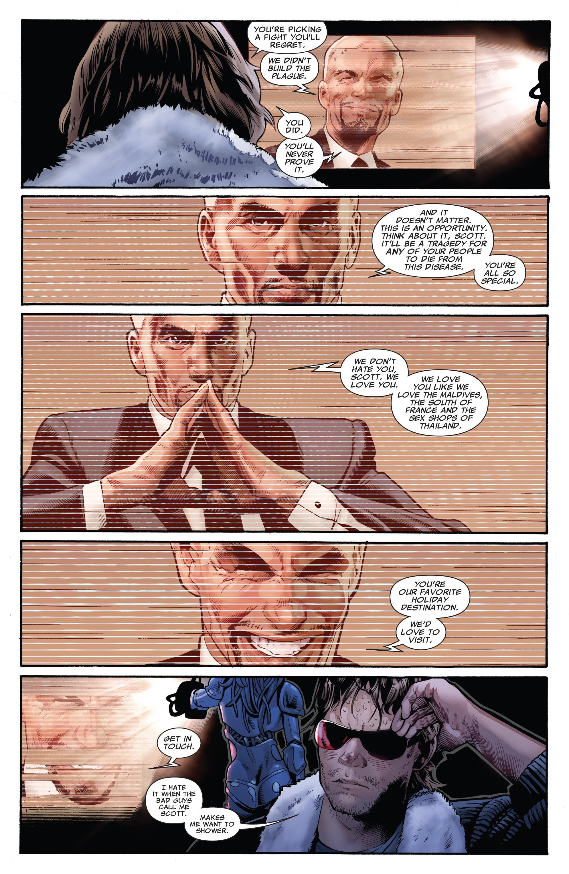 Read online Uncanny X-Men (1963) comic -  Issue #532 - 19