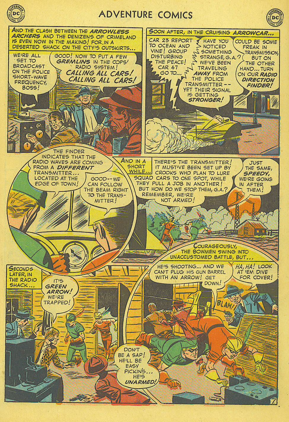 Read online Adventure Comics (1938) comic -  Issue #165 - 35