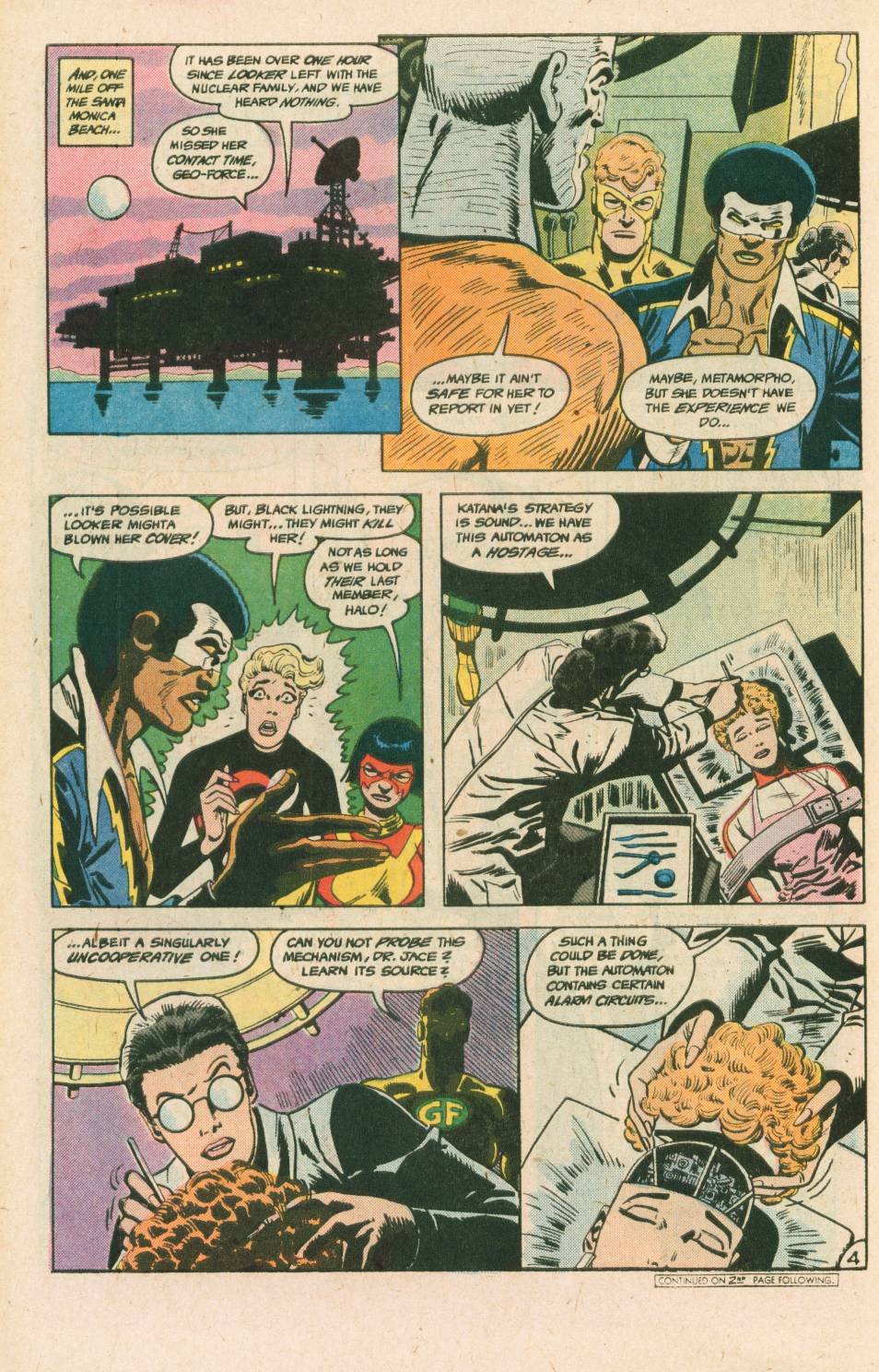 Read online Adventures of the Outsiders comic -  Issue #40 - 5
