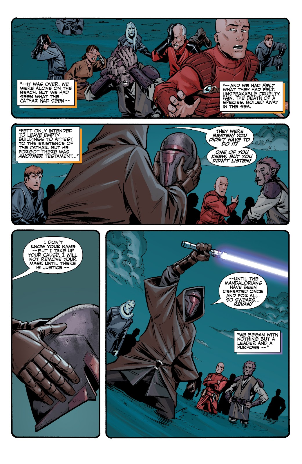 Read online Star Wars Legends: The Old Republic - Epic Collection comic -  Issue # TPB 3 (Part 2) - 10