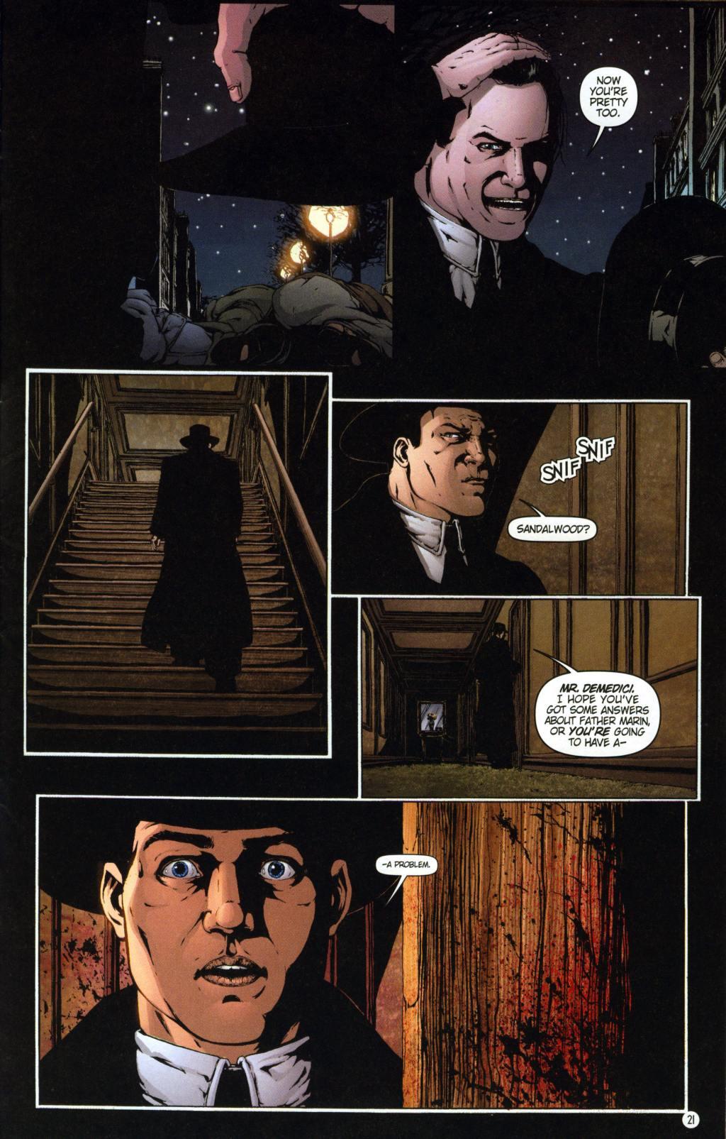 Read online Rex Mundi comic -  Issue #7 - 25
