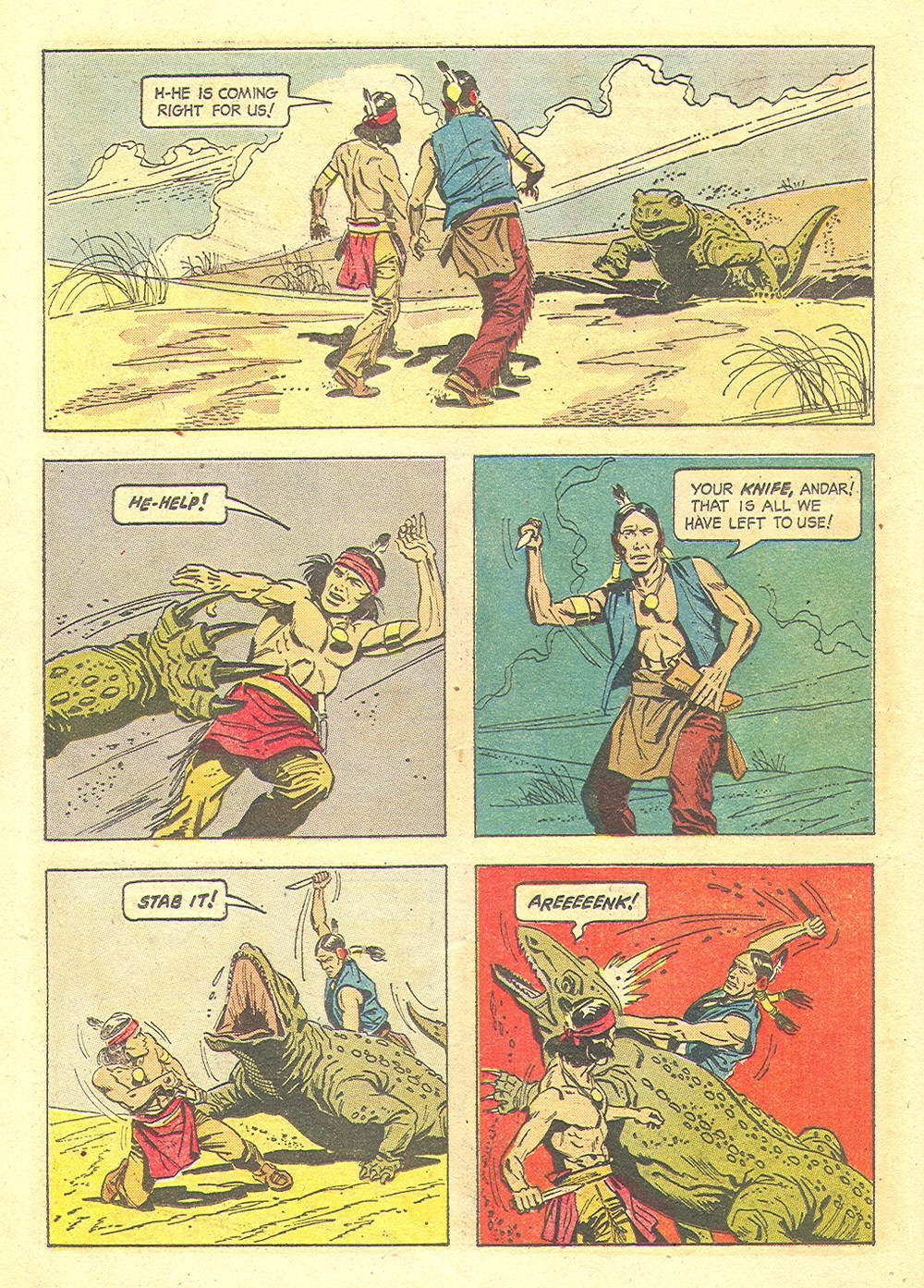Read online Turok, Son of Stone comic -  Issue #35 - 26