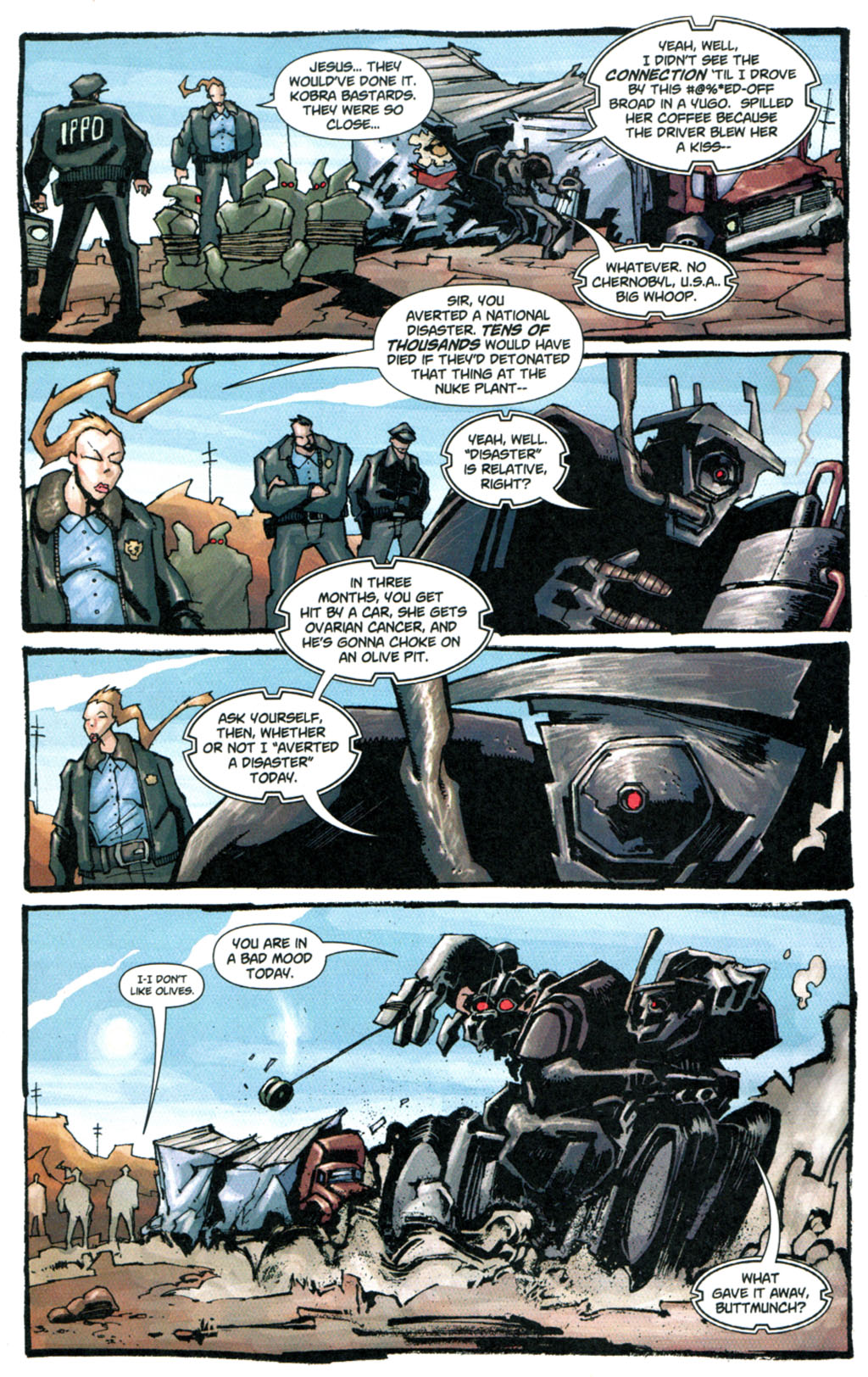 Read online Enginehead comic -  Issue #5 - 5