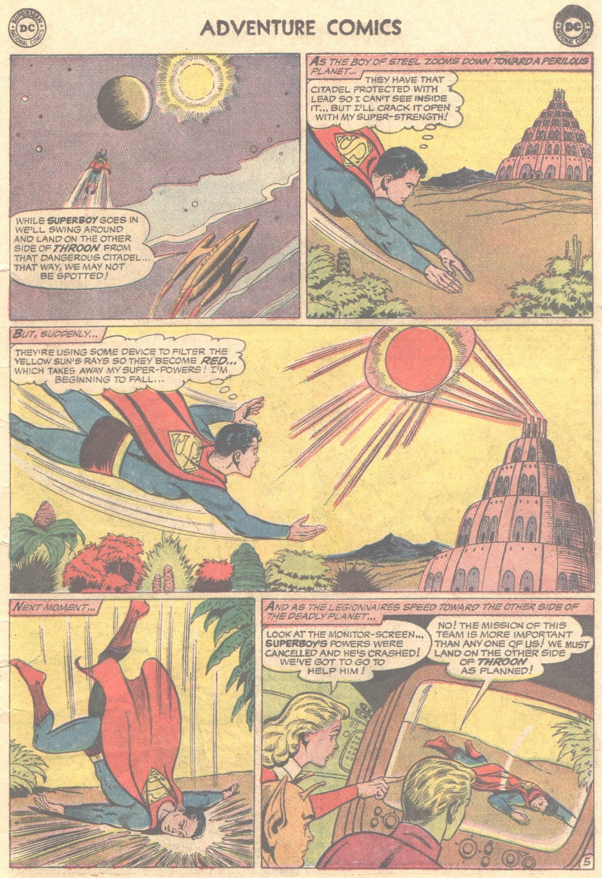 Read online Adventure Comics (1938) comic -  Issue #319 - 8
