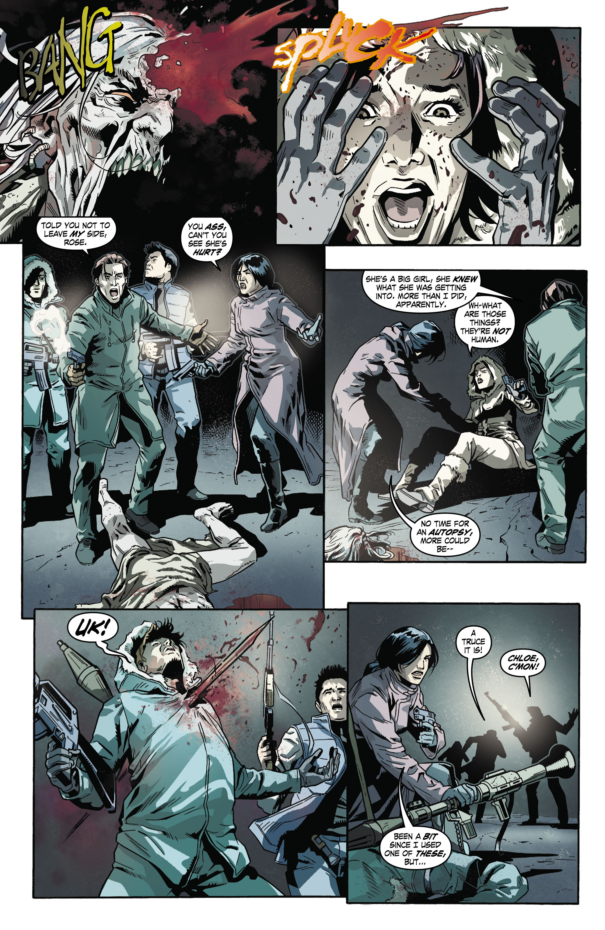 Read online Uncharted comic -  Issue #5 - 8