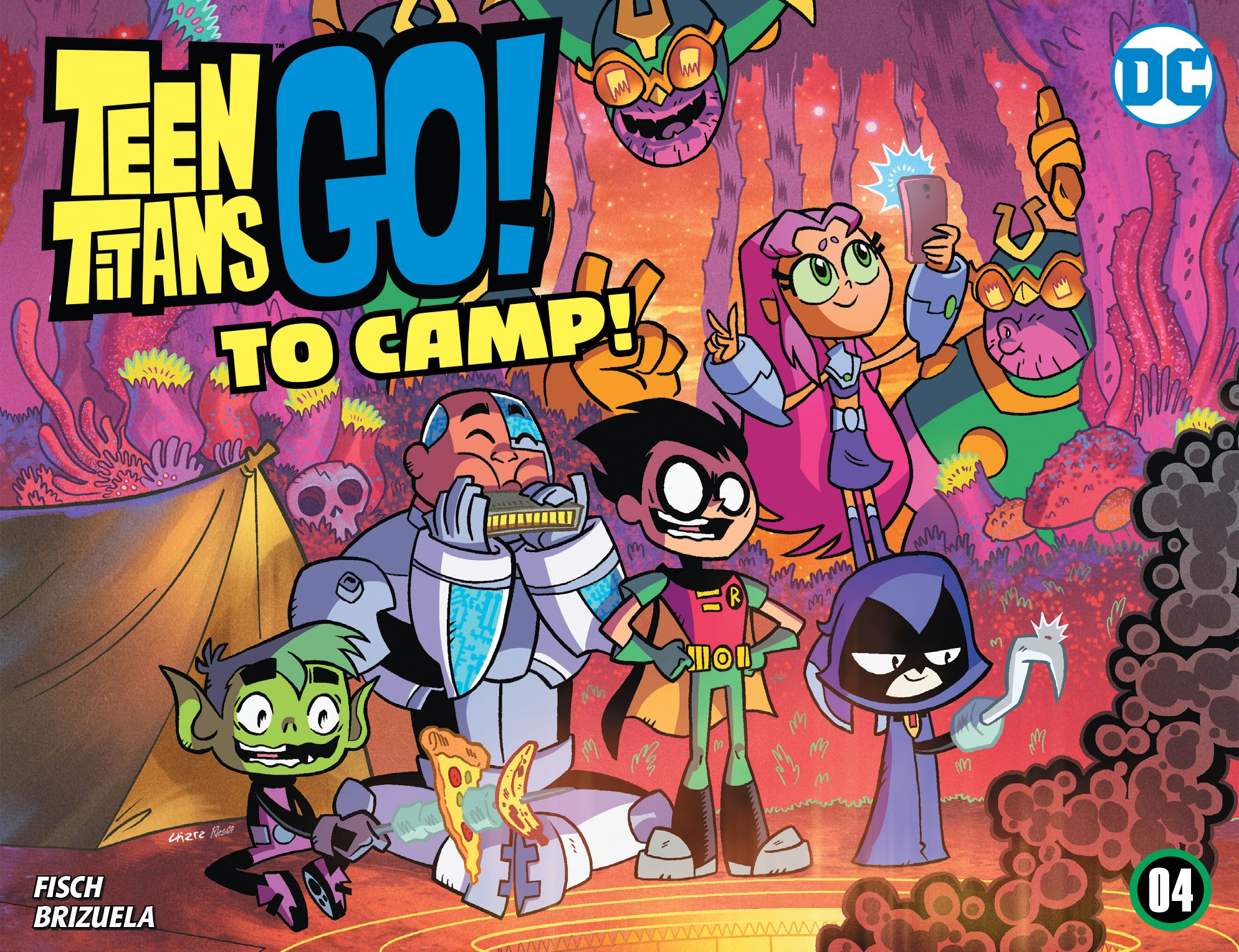 Teen Titans Go! To Camp 4 Page 1