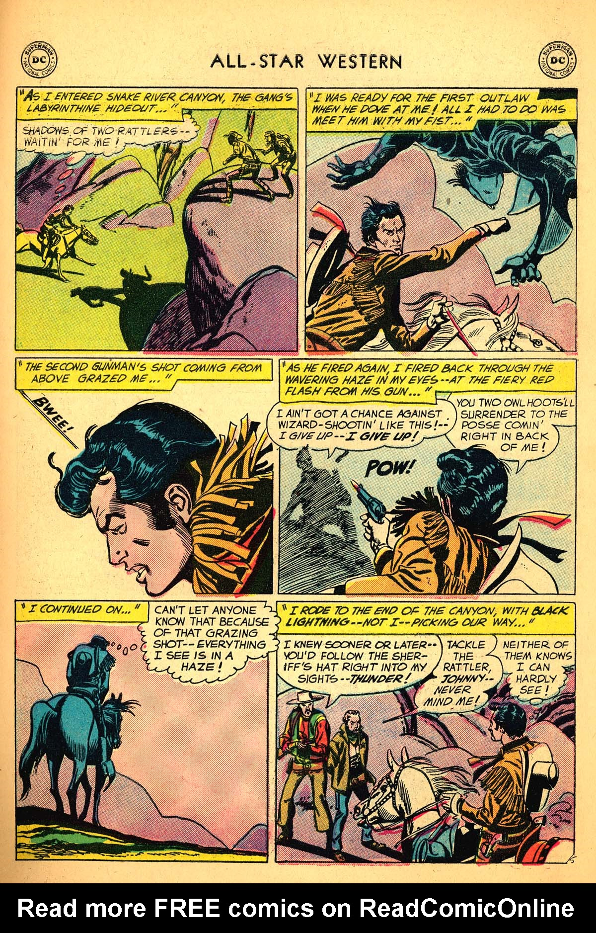 Read online All-Star Western (1951) comic -  Issue #99 - 31
