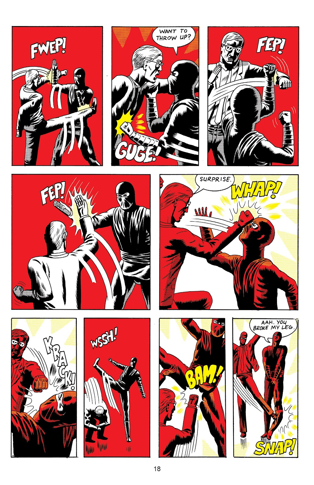 Read online Terror Assaulter: O.M.W.O.T (One Man War On Terror) comic -  Issue # TPB - 19