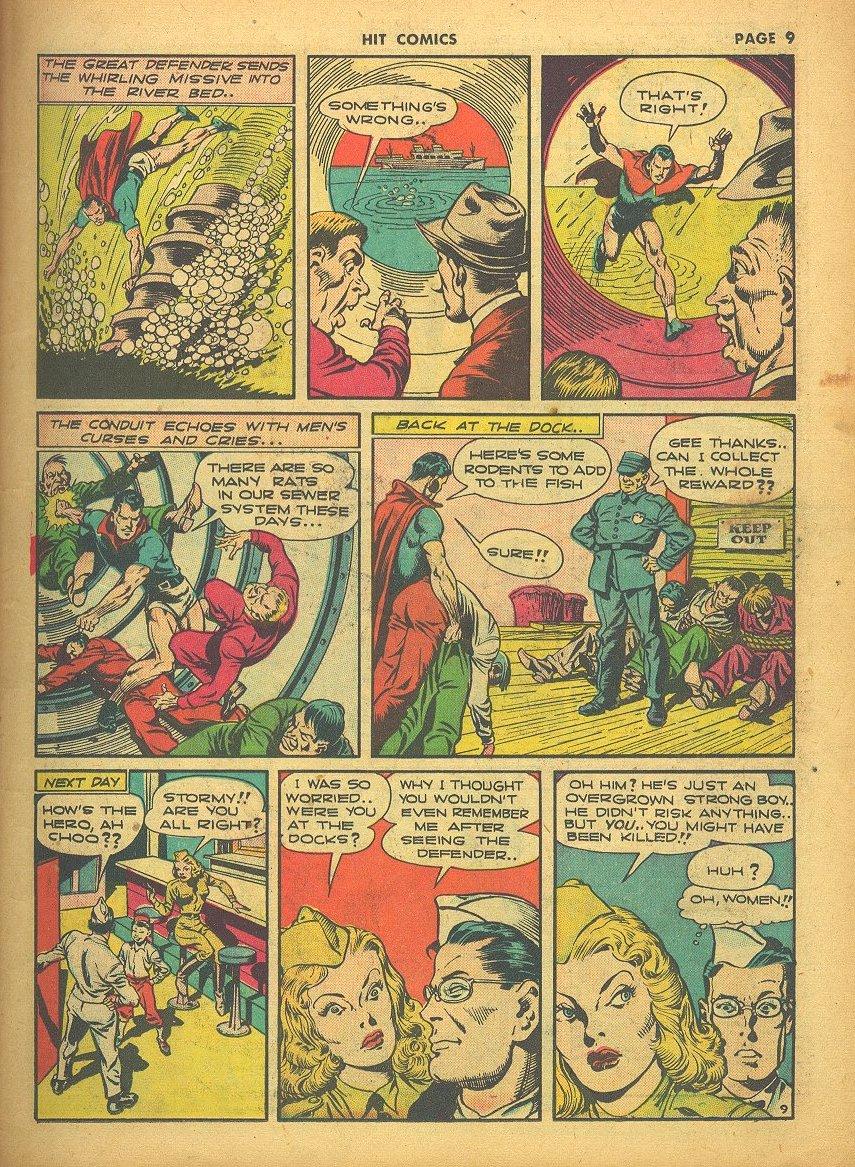 Read online Hit Comics comic -  Issue #24 - 11