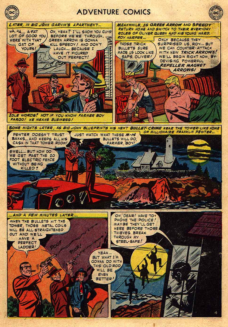 Read online Adventure Comics (1938) comic -  Issue #175 - 37