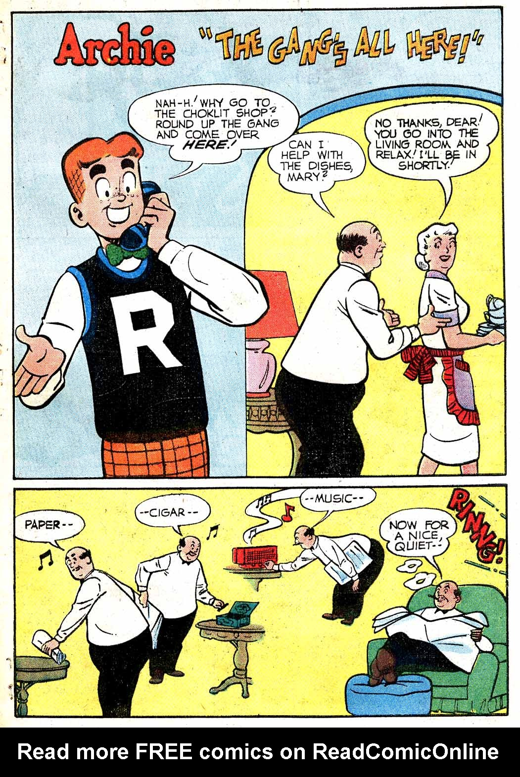 Read online Archie (1960) comic -  Issue #115 - 29