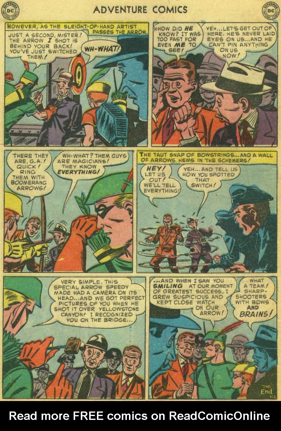 Read online Adventure Comics (1938) comic -  Issue #168 - 44