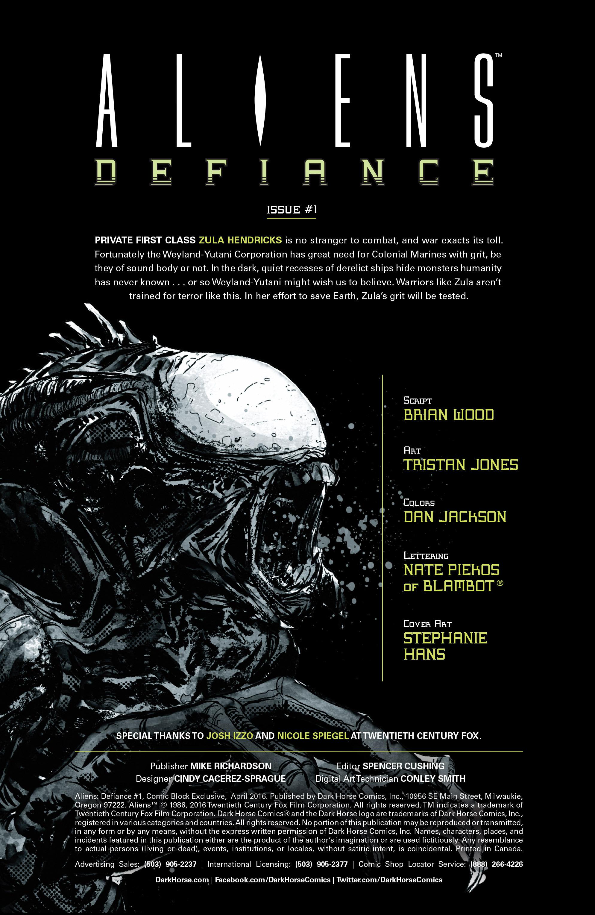 Read online Aliens: Defiance comic -  Issue #1 - 8