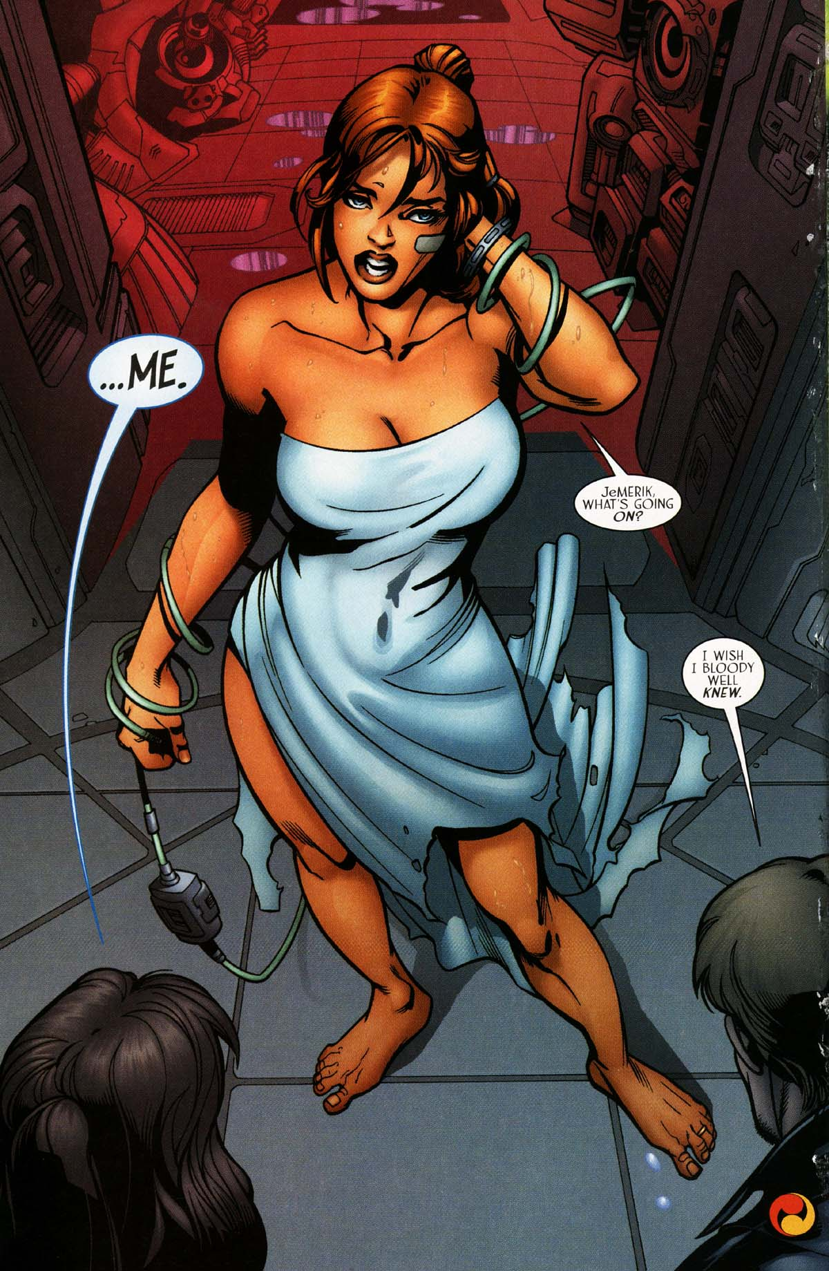 Read online Sigil (2000) comic -  Issue #29 - 17