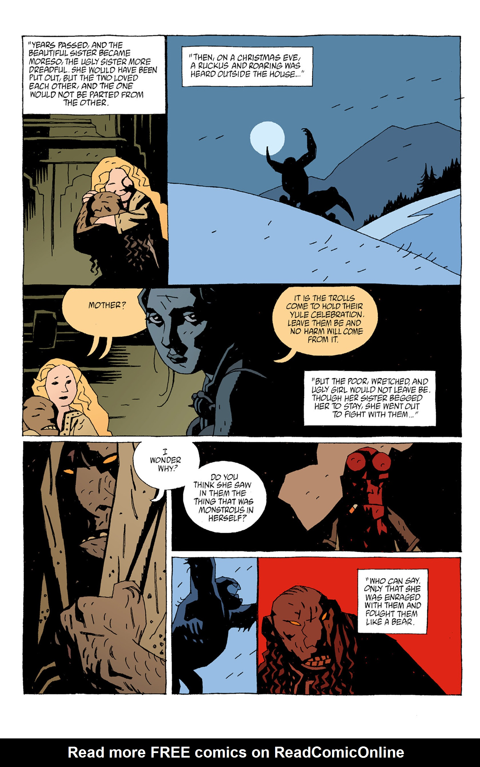 Read online Hellboy: The Troll Witch and Others comic -  Issue # TPB - 30