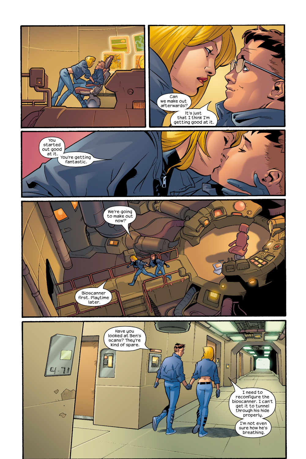 Read online Ultimate Fantastic Four (2004) comic -  Issue #7 - 14