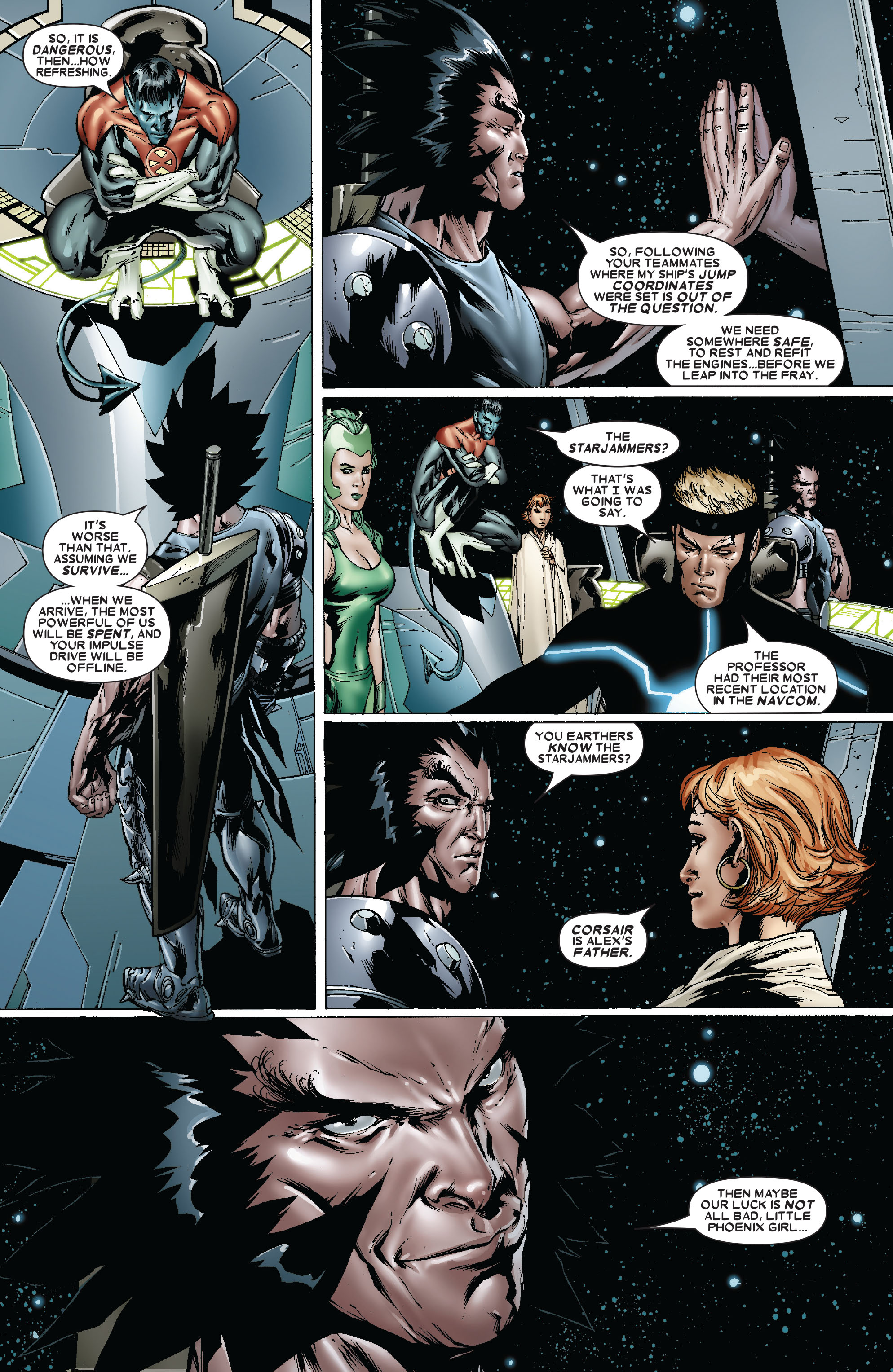 Read online Uncanny X-Men (1963) comic -  Issue #481 - 8