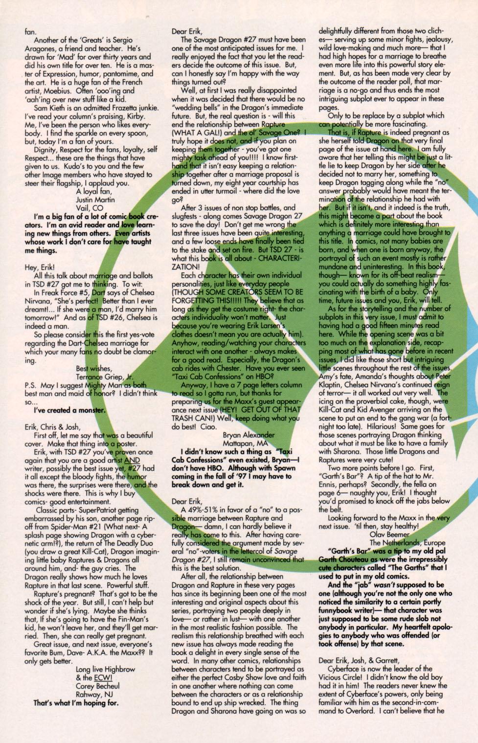 The Savage Dragon (1993) Issue #29 #32 - English 27