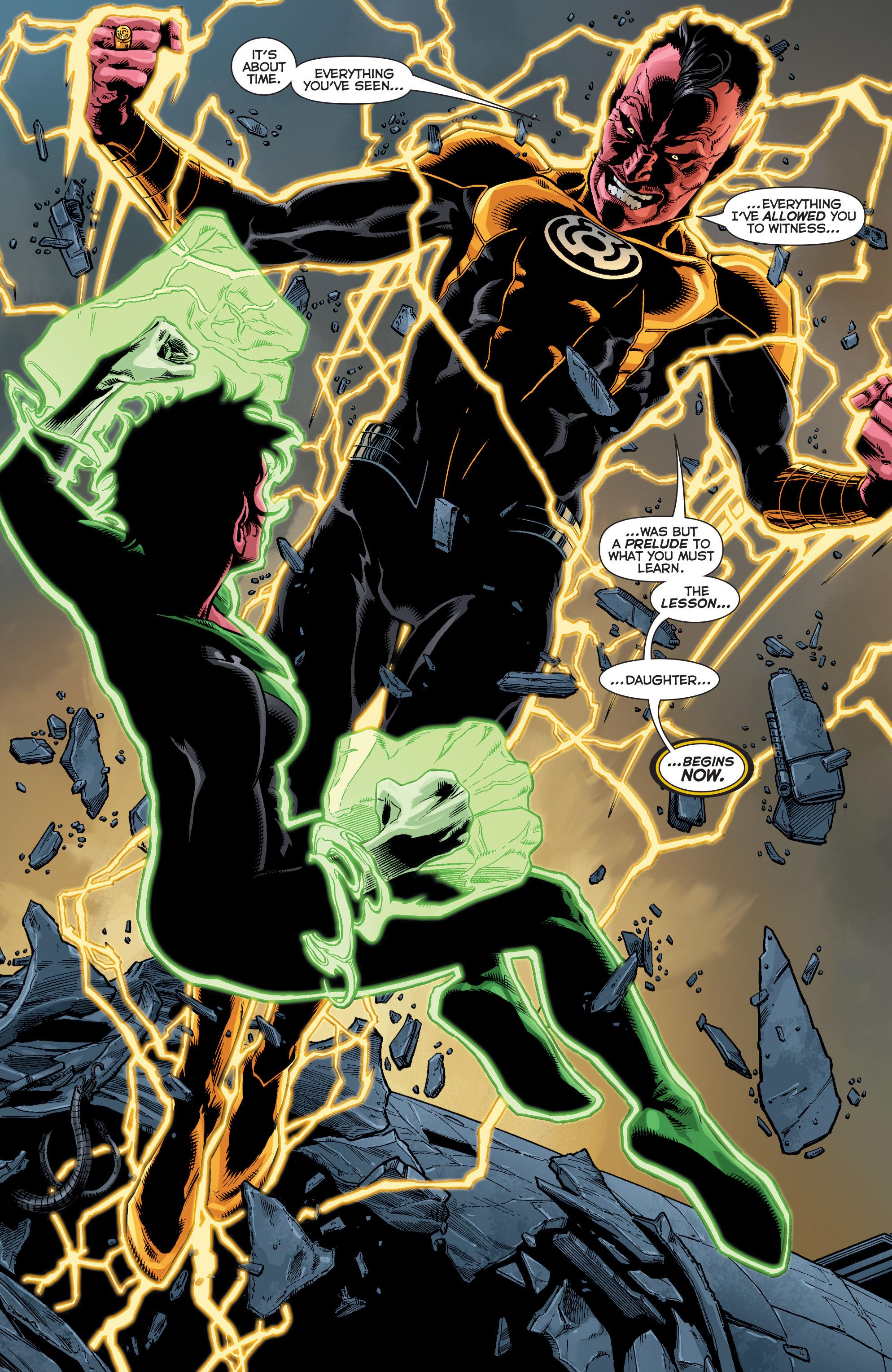 Read online Sinestro comic -  Issue #12 - 17