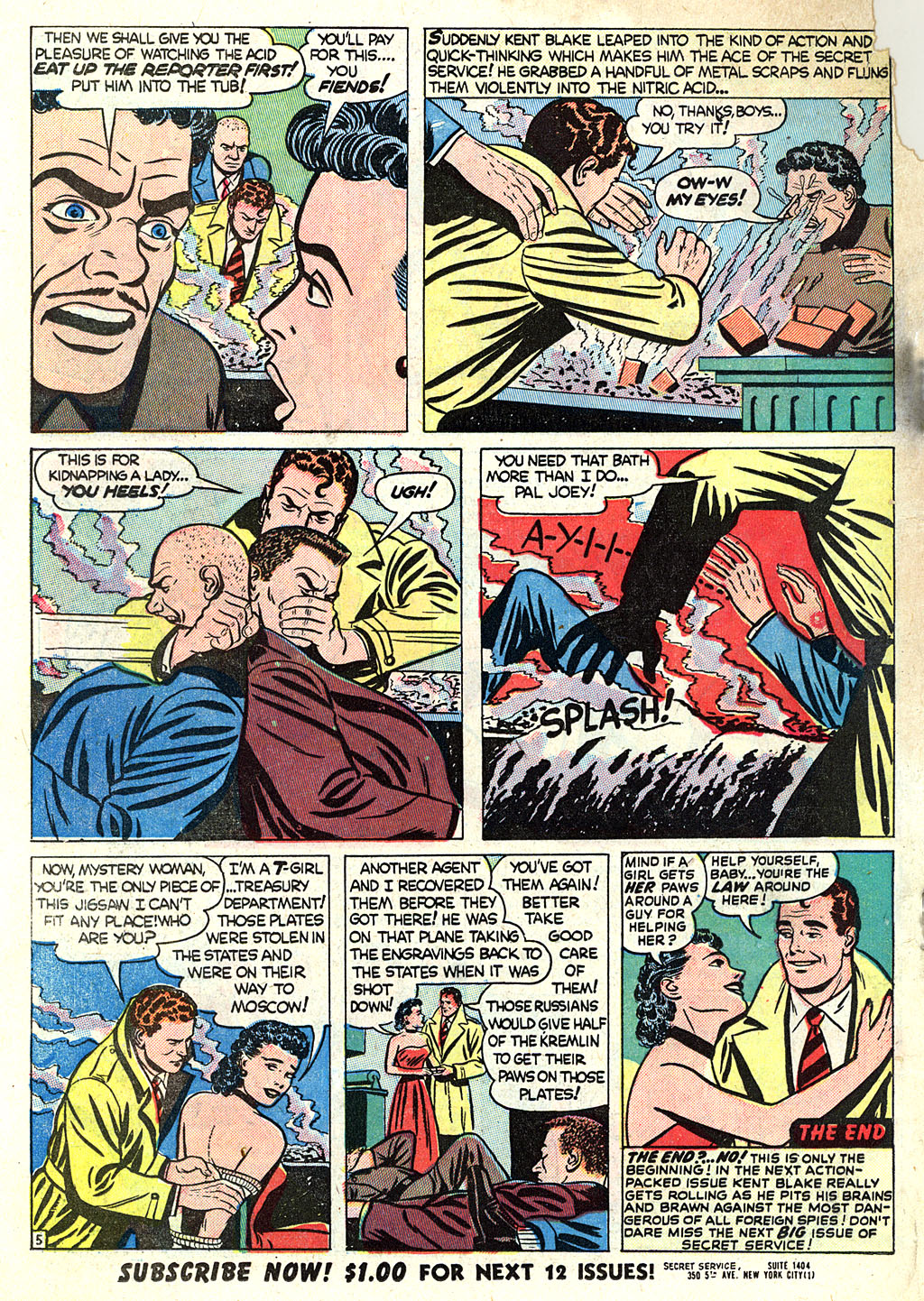 Kent Blake of the Secret Service issue 1 - Page 26