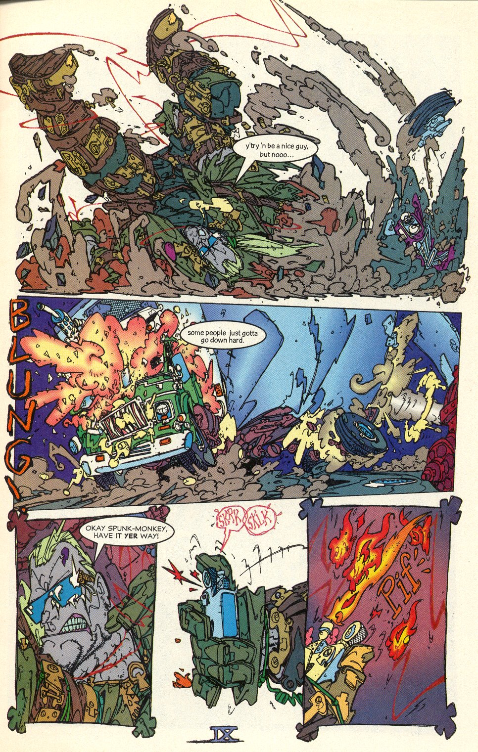 Read online Trencher comic -  Issue #1 - 11