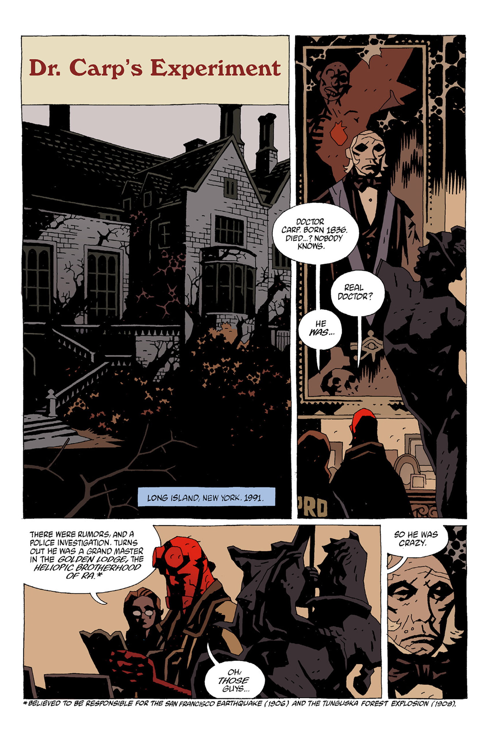 Read online Hellboy: The Troll Witch and Others comic -  Issue # TPB - 56