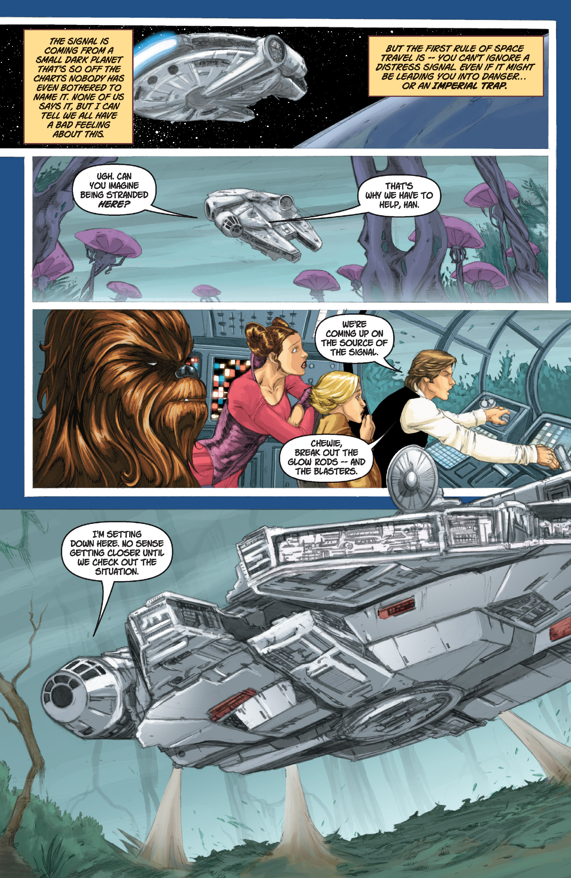 Read online Star Wars Omnibus comic -  Issue # Vol. 17 - 318