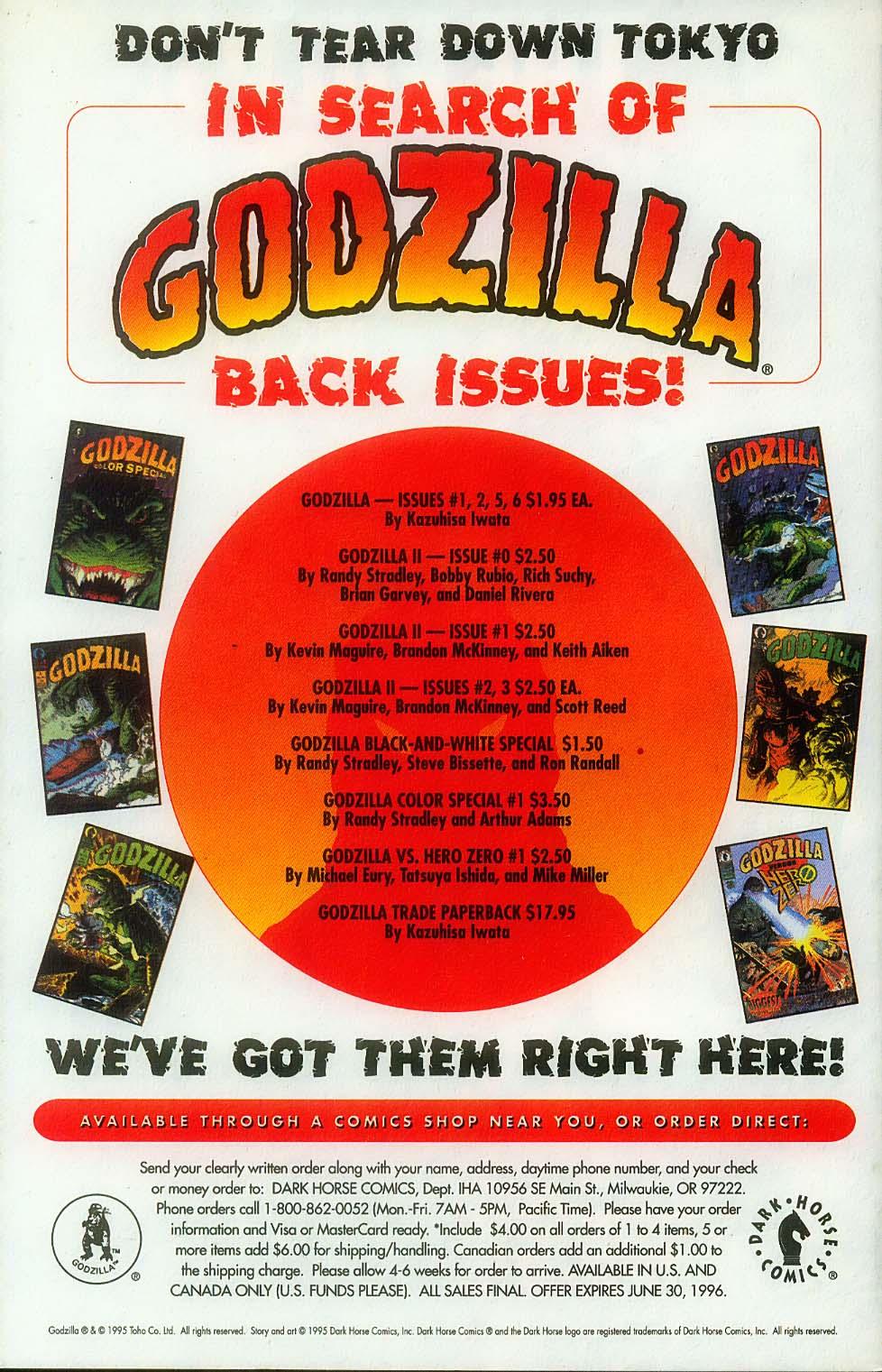 Godzilla (1995) Issue #7 #8 - English 35
