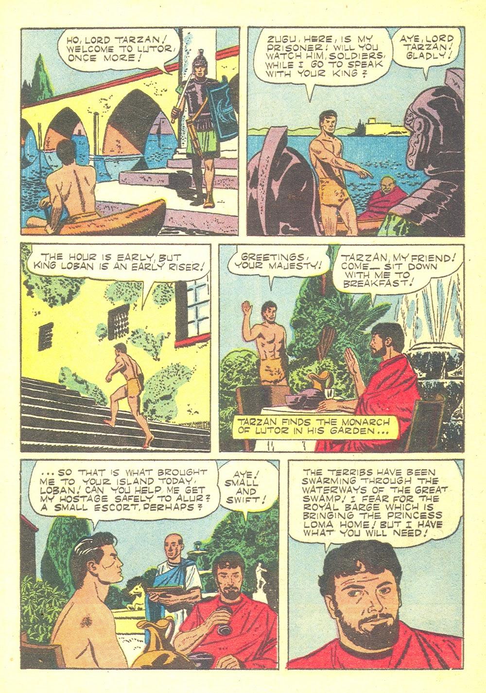 Tarzan (1948) issue 70 - Page 4