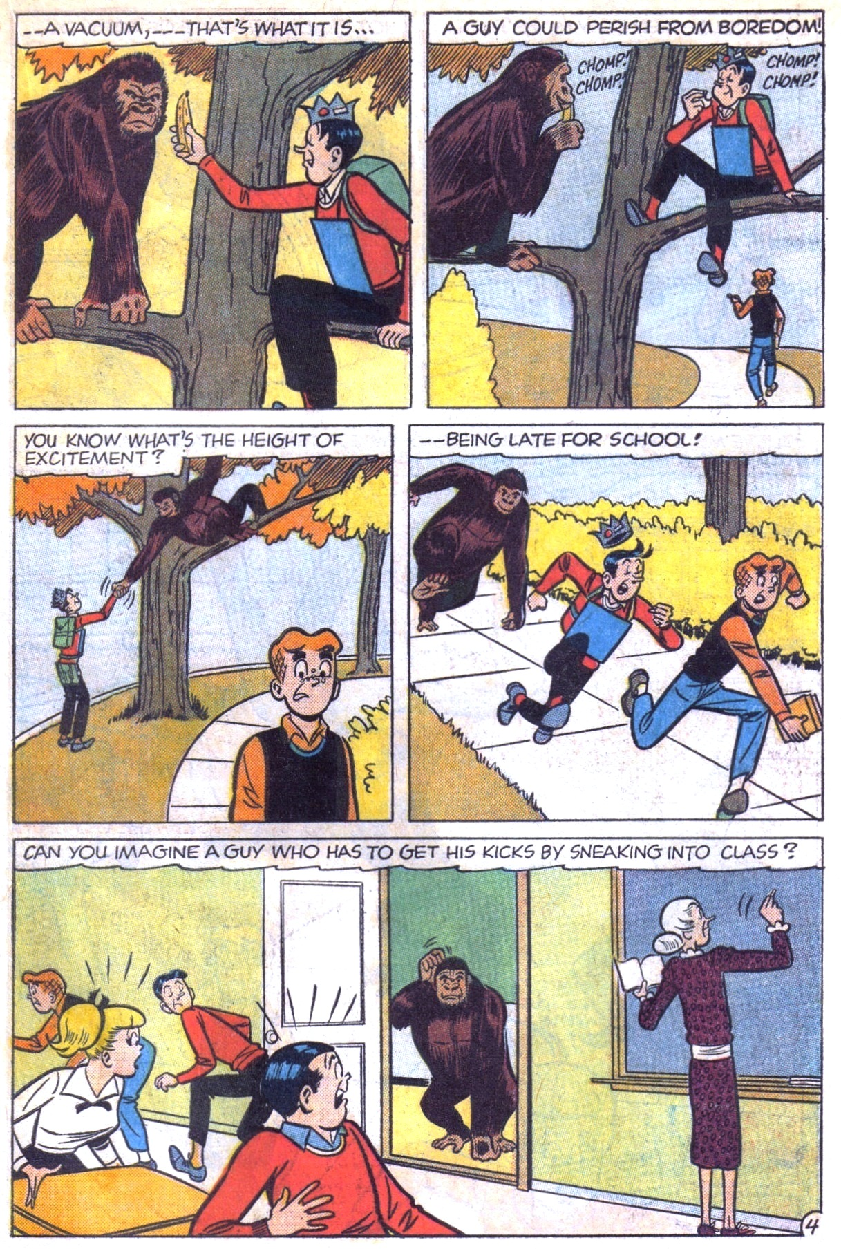 Read online Archie (1960) comic -  Issue #153 - 23