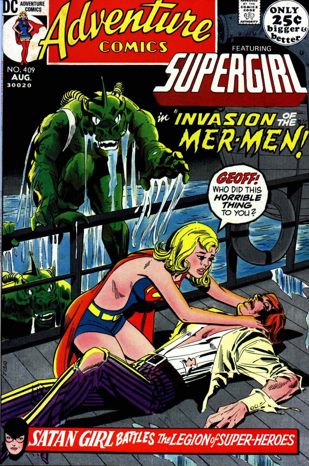 Read online Adventure Comics (1938) comic -  Issue #409 - 1